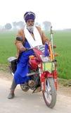 Sikh warrior Stock Images