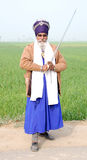 Sikh warrior Royalty Free Stock Image