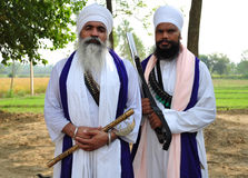 Sikh warriors Stock Photo