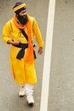 sikhen för processionen för baisakhifantastdelen tar till Royaltyfria Foton