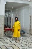Sikhijczyka Strażnik zdjęcie royalty free