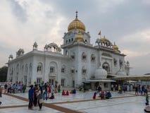 Sikhijska świątynia Gurudwara sahib fotografia stock