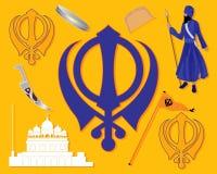 Sikhijska historia Zdjęcie Stock