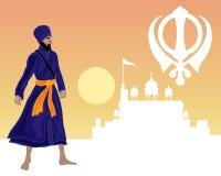 Sikhijski festiwal Fotografia Royalty Free