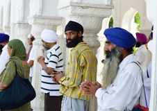 Sikhijski Modlenie obraz royalty free