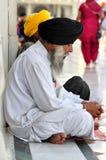 Sikhijski modlenie Obrazy Royalty Free