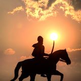 Sikhijski wojownik Zdjęcia Stock