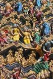Sikhijskie świątynne dekoracje Zdjęcia Royalty Free