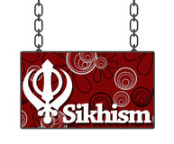 Sikhism Signboard Royalty Free Stock Photo
