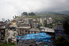 Sikkim cityscape Royalty Free Stock Photography