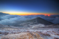 Sikkim Mountain Sunrise 2 Stock Photo