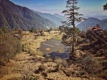 Sikkim trek royalty free stock image