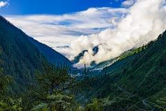 Sikkim var naturen ler royaltyfri bild