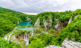 Siklaw Plitvice jeziora Fotografia Royalty Free