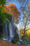 Siklawa blisko Etropole, Bułgaria Obrazy Royalty Free
