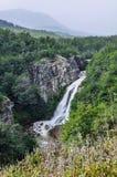 Siklawa, droga Siedem jezior, Argentyna Zdjęcia Royalty Free
