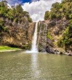 Siklawa - Hunua, Nowa Zelandia Zdjęcia Royalty Free