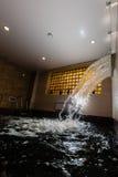 Siklawa i basen Zdjęcie Royalty Free