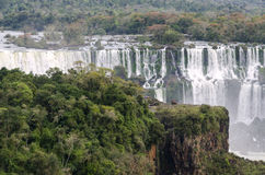 Siklawa Iguacu Fotografia Stock