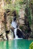 Siklawa na Agura rzece Obrazy Royalty Free
