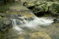 Siklawa na halnej rzece Crimea Fotografia Royalty Free