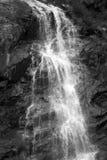 Siklawa opuszcza monochromatyczną scenę Obraz Stock