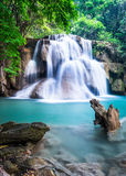 Siklawa przy Kanchanaburi prowincją, Tajlandia Fotografia Royalty Free