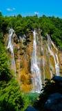 Siklawa przy Plitvice jeziorami 2 Obrazy Stock