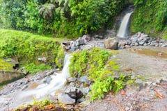 Siklawa Rio na volcan baru śladu chiriqui Panama Obrazy Royalty Free