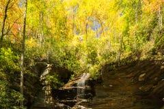 Siklawa w Appalachians obraz stock