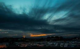 Siklawa w Catalonia (Hiszpania) Zdjęcie Royalty Free