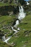 Siklawa w czystej wysokogórskiej naturze Obraz Royalty Free