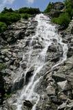 Siklawa w Fagaras górach, Rumunia Zdjęcie Royalty Free