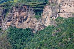 Siklawa w górach Obrazy Stock