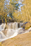 Siklawa w Geres Park Narodowy Obrazy Royalty Free