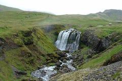 Siklawa w Iceland Zdjęcia Royalty Free
