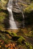 Siklawa w jesień Zdjęcie Royalty Free