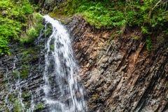 Siklawa w Karpackich górach Obraz Stock