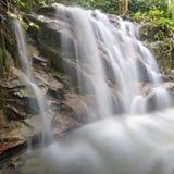 Siklawa w Malezja tropikalnym lesie deszczowym Zdjęcia Stock