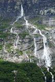 Siklawa w Norwegia Zdjęcie Royalty Free