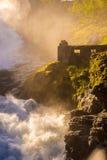 Siklawa w Norwegia Fotografia Royalty Free