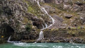 Siklawa w Picos De Europa Obrazy Royalty Free