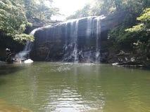 Siklawa w Sri Lanka Fotografia Royalty Free