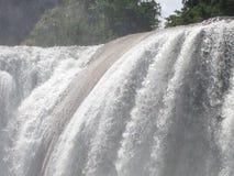 siklawy Agua Azul w Chiapas Obraz Royalty Free
