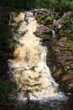 Siklawy ` bielu mostów ` karelia republiki rzeki lato Obrazy Royalty Free