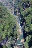 Siklawy dolina Obrazy Royalty Free
