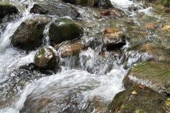 Siklawy góry rzeka Obrazy Stock