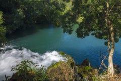 Siklawy Krka park narodowy Obrazy Royalty Free