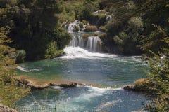 Siklawy Krka park narodowy Zdjęcia Stock