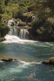 Siklawy Krka park narodowy Zdjęcia Royalty Free
